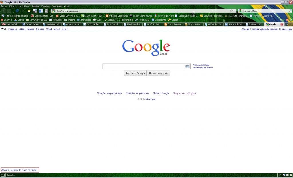 Plano de fundo Google - por Leandra Soares